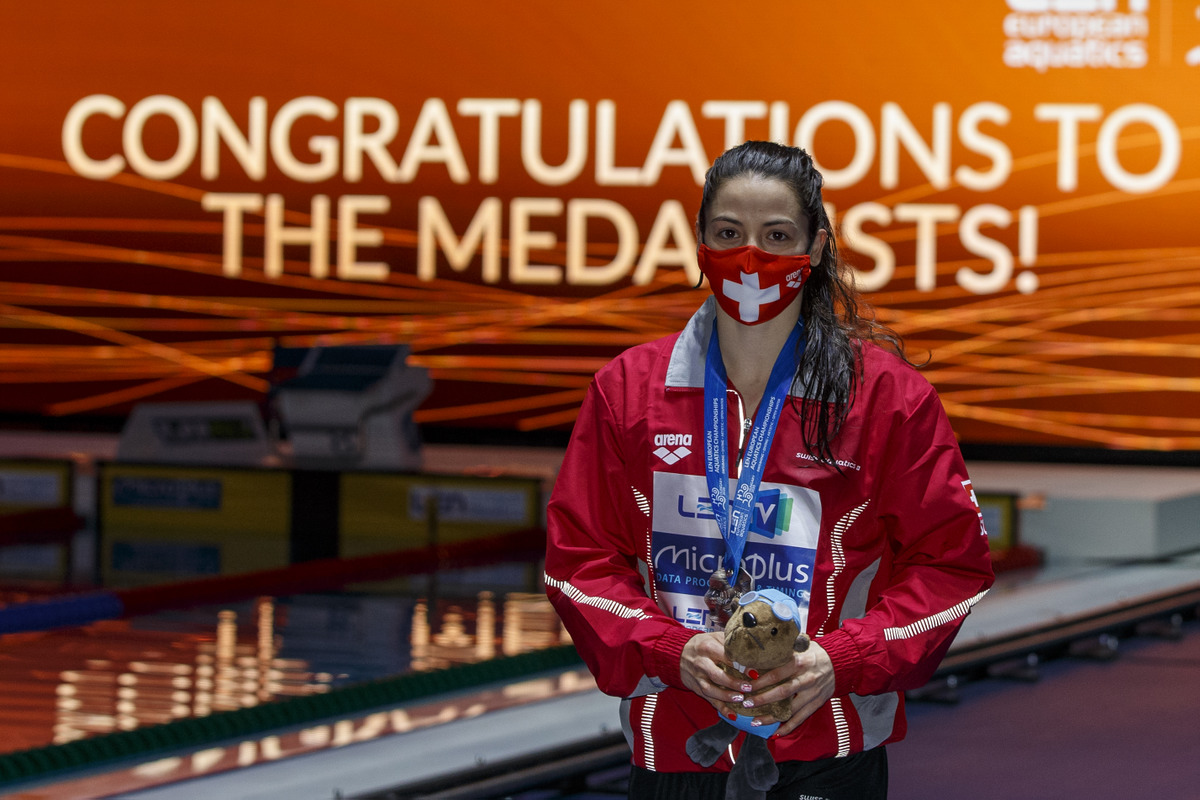 Lisa Mamié Silbermedaille in Budapest